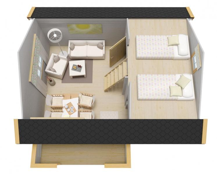 Gjestehytte 15 m2